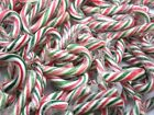 Red / Green Mini Christmas Tree Peppermint Candy Canes Decoration Sweet Small