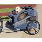 HoundAbout II Medium or Large Pet Dog  Bicycle Trailer with Aluminum frame