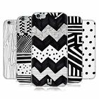 HEAD CASE BLACK AND WHITE DOODLE PATTERNS SOFT GEL CASE FOR APPLE iPHONE 6S