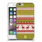HEAD CASE KNITTED CHRISTMAS SOFT GEL CASE FOR APPLE iPHONE 6S