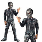 Childrens Deluxe Ultron Costume Rubies Marvel Avengers Age Of Ultron Fancy Dress
