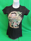 "Betty Boop ""Hula Boop"" Women's Black T-shirt Size S, M, L, XL, 2XL $4.97 USD"