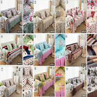 100% Cotton Beauty Couch Sofa Cover Slipcover Furniture Protector, 9 Colors