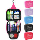 Hot Wash Bag Toiletry Toiletries Travel Make Up Mens Ladies Hanging Folding UKJR