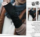 Trendy Style  Men Fashion Korean Half-Length Fingerless Gloves JRAU