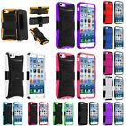 Rugged Impact Hybrid Case Cover Belt Clip Holster For Apple iPhone 6 6s 4.7 inch