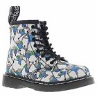 Dr.Martens Brooklee White Multi Toddlers Boots - 16903101