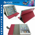 For iPad Mini Leather Flip Case Stylish Book Case Stand Magnetic Smart Cover NEW
