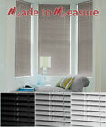 MADE TO MEASURE ALUMINIUM VENETIANS - 25mm SLATS - CUSTOM MADE - MANY SIZES