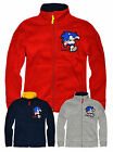 Boys Sonic The Hedgehog Fleece Jacket New Childrens Sweatshirt Ages 3-8 Years