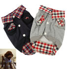 Didog Warm Soft Dog Shirt Puppy Pet POLO T-Shirt Clothes Poodle Jacket Coats