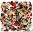 Assortment of Trout Flies for Fly Fishing Wet Dry Nymph Buzzers Qty 10 25 50 100 <br/> Buy with confidence, over 4534 sold, Genuine UK Seller.