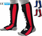 RDX Neoprene Gel Shin Instep Pads MMA Leg Foot Guards Kick Protector Muay Thai N