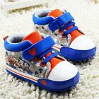 Toddler Baby boys blue sports shoes crib shoes size 0-6 6-12 12-18 Months