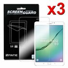 3 Pack Clear HD Screen Protector Film Guard Cover For Samsung Galaxy tab S2 / A