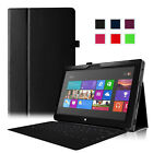 "PU Leather Case Cover for Microsoft Surface RT/Surface 2 10.6"" Windows 8"