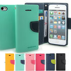 Leather Wallet Card Holder Fancy Flip Case Cove for iPhone 6s Galaxy S Note LG