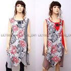 High Quality Fashion Casual Loose Fitting Gown Dress 100% Cotton M L XL