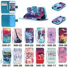 PU Leather Wristlet Cash Wallet Card Slot Flip Case Cover For iPhone Applied