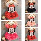 New baby girl princess Minnie Mouse tullie dress costume size 6M-4yrs