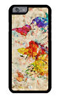 iPhone Case Premium Protective Cover World Geographic Map