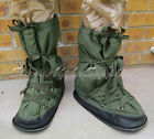 UK BRITISH ARMY SURPLUS ISSUE MUKLUK SNOW OVER BOOTS SMALL,MEDIUM,LARGE-SAS/PARA