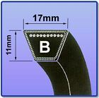 V BELT SIZES B86 - B120 17MM X 11MM FREE UK NEXT DAY DELIVERY