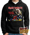 "SUDADERA CON CAPUCHA ""IRON MAIDEN THE NUMBER OF THE BEAST"" HOODIE,ENVIO 24/72 h"