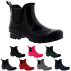 Womens Original Chelsea Gloss Rubber Winter Snow Rain Wellingtons Boots UK 3-10