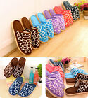 New Men Women Soft Warm Indoor Slippers HO Cotton House Home AU Anti-slip Shoes