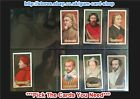 ☆ Carreras - Celebrities of British History 1935 (G) *Pick The Cards You Need*