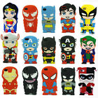 C8 US 3D Cartoon Superhero Soft Silicone Rubber Case Cover For iPhone 4S 5S 6/6P