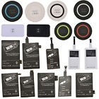Pop Qi Wireless Charger Receiver / Pad For Iphone Samsung Galaxy S3 S4 S5 Note 2