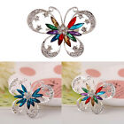 Women fashion beautiful accessories Exaggerated vintage Butterfly Brooch Jewelry