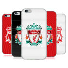 OFFICIAL LIVERPOOL FOOTBALL CLUB CREST DESIGNS GEL CASE FOR APPLE iPHONE PHONES