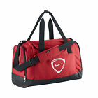NIKE SPORTS BAG AVAILABLE IN RED, BLUE & BLACK. TREATED FOR WATER-RESISTANCE.