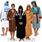 STAR WARS Fleece Hooded Warm Bathrobe Classic Thick Dressing Gown Robe Galactic