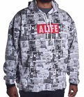 Alife Men's $98 Wall Paper Pull Over Hoodie Choose Size