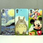 For HTC Desire 728 Mickey/Painting/Totoro Phone Case Cover Free Screen Protector