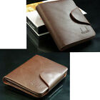 Men  PU Leather Business Credit Card Holder Ultra Slim Wallet Purse Money Clip