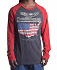 Ralph Lauren Denim & Supply Men's USA Long Sleeve Tee Shirt