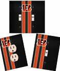 Cincinnati Bengals light switch wall plate custom covers man cave room decor