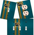Jacksonville Jaguars light switch wall plate custom covers man cave room decor
