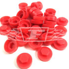 "16mm PETRA RED HEXAGONAL SCREW COVER CAPS TO FIT 8mm (5/16"") TEK SCREWS (AN2)"