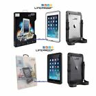 New Authentic LifeProof Fre Waterproof Case For iPad Mini Gen 1/2/3 Black /White