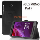 Smart Folio PU Leather Case Stand Cover For ASUS MeMO Pad 7 LTE (ME375CL)