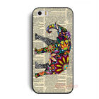 New Special Colorful Elephant Hard Case Cover Skin For iPhone 4 4G 4S 5 5G 5S