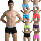 C8 US Sexy Trunk Men's Underwear Boxer Shorts See Through Lace Fashion Underpant