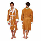 Groovy Official Only Fools & Horses Del Boy Mens Dressing Gown Robe One Size