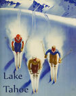 Ski Colorado Skiing in the Mountains Winter Sport 16X20 Vintage Poster FREE S/H